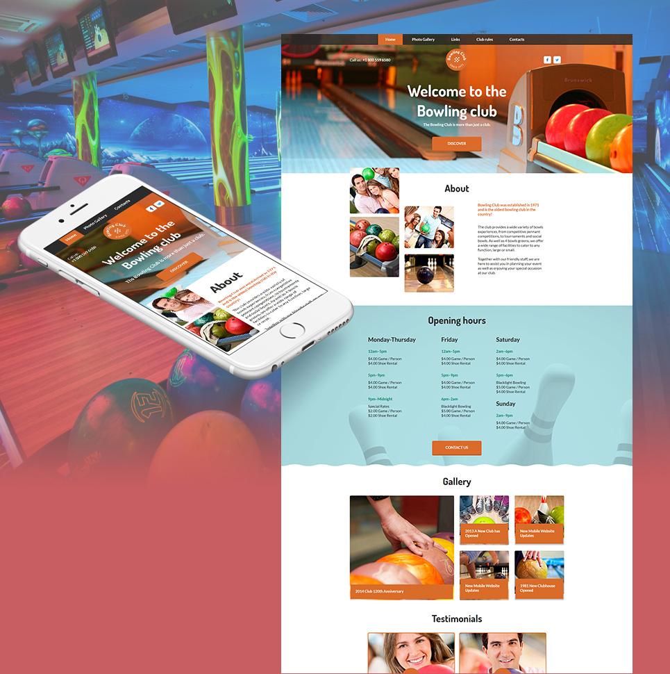 MotoCMS HTML Szablon #58750 z kategorii Sport - image
