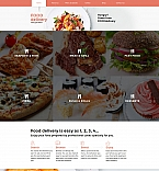58839 Food & Drink Moto CMS 3 Templates