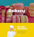 58856 Food & Drink Moto CMS 3 Templates