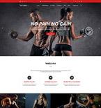 58882 Sport, Most Popular Website Templates