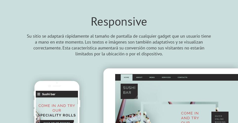 Plantilla HTML ideal bar, restaurante, comida a domicilio ...