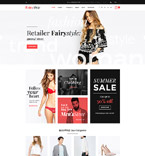 58907 Fashion, Most Popular Website Templates