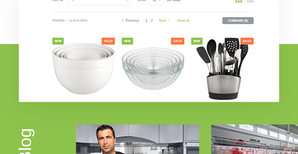 Quintix Responsive Cookware Store Prestashop Theme For Kitchen Appliances Stores Platina