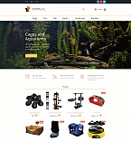 58998 Animals & Pets MotoCMS Ecommerce Templates