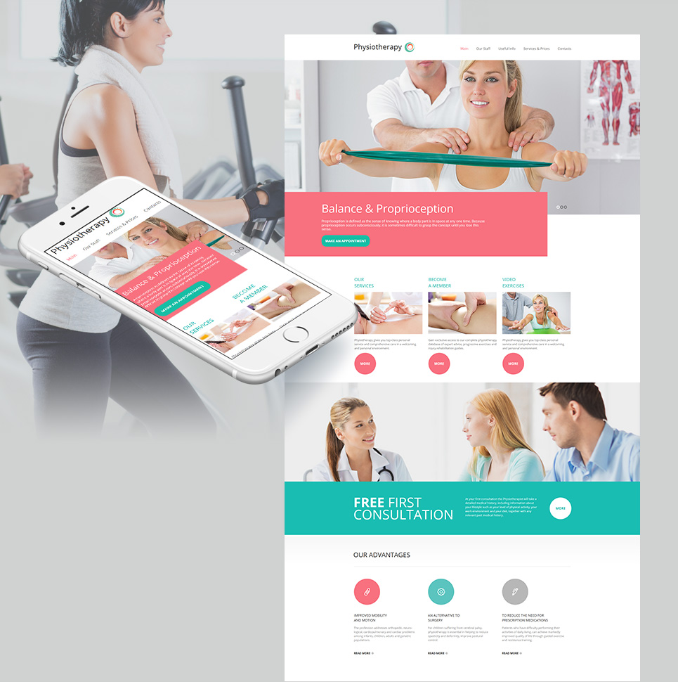 MotoCMS HTML Шаблон #59077 из категории Медицина - image
