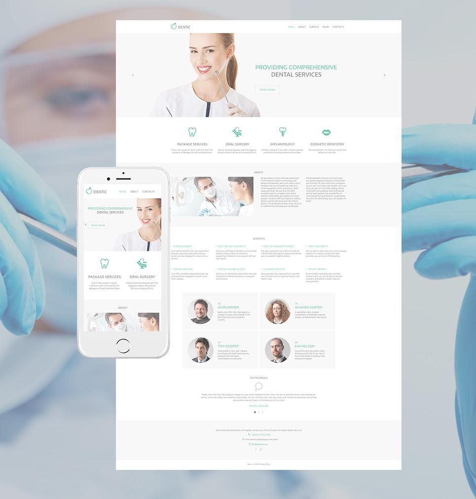 MotoCMS HTML Plantilla #59078 de categoría Medicina - image