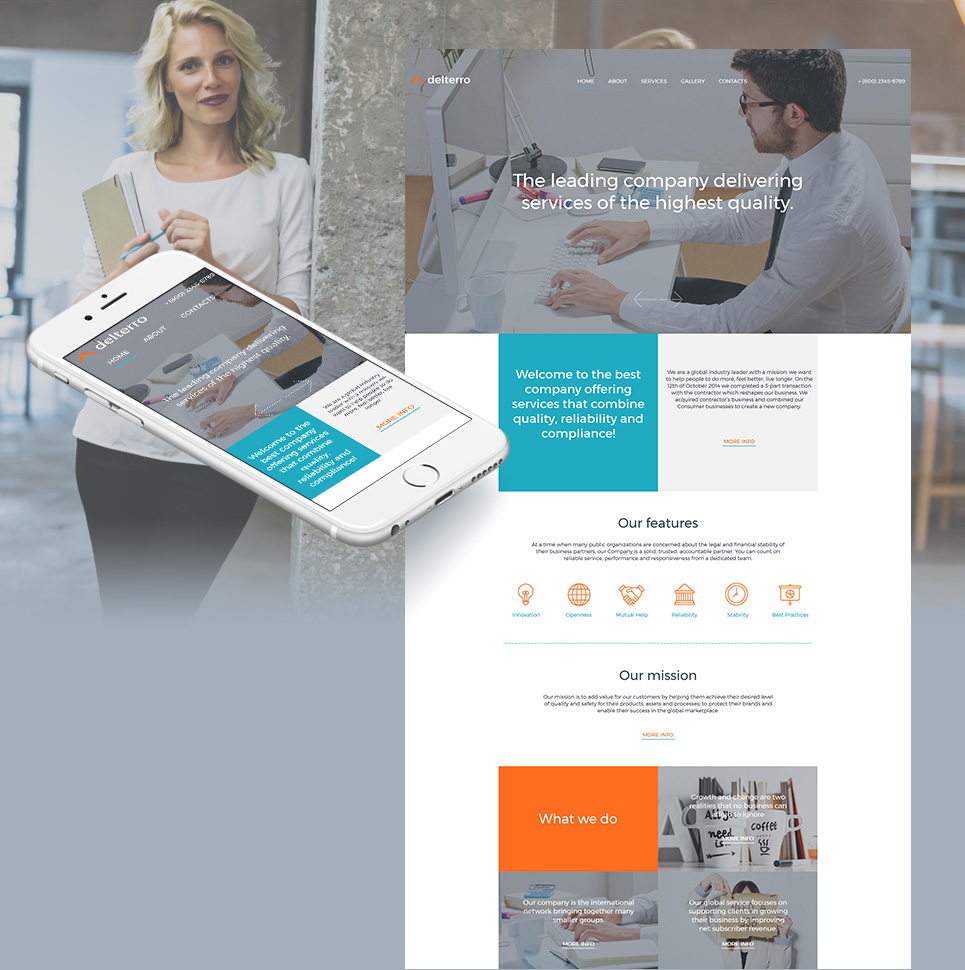 Business MotoCMS HTML Template #59080 - image