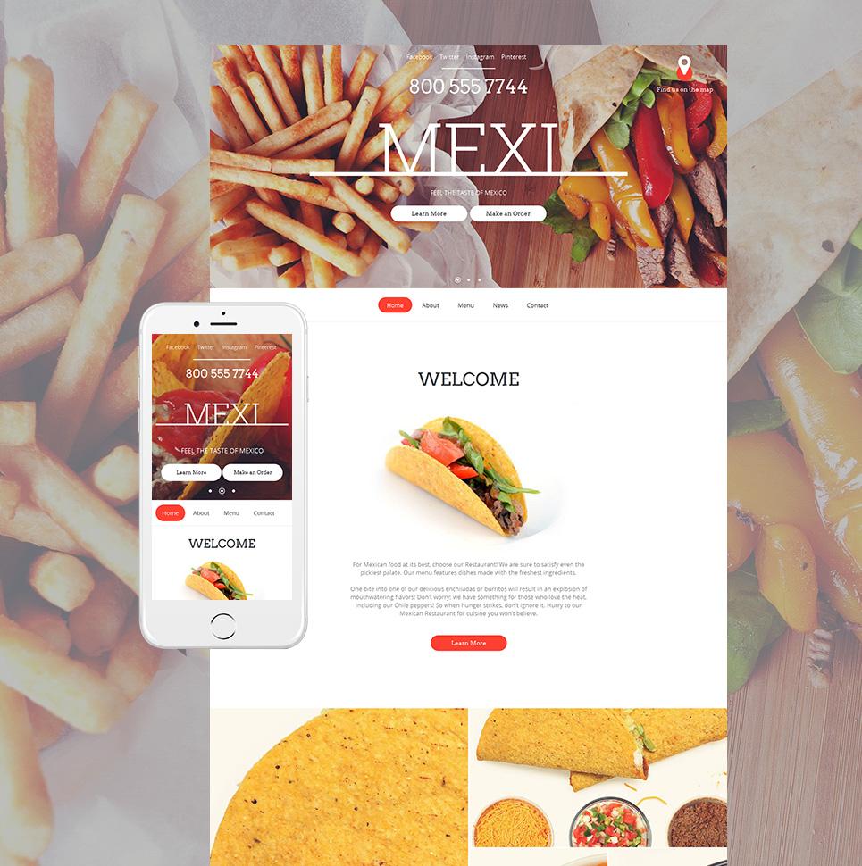 MotoCMS HTML Plantilla #59081 de categoría Restaurantes, bares y cafés - image