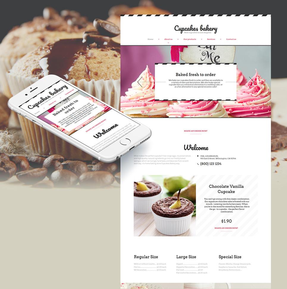 MotoCMS HTML Plantilla #59083 de categoría Alimentos y cocina - image