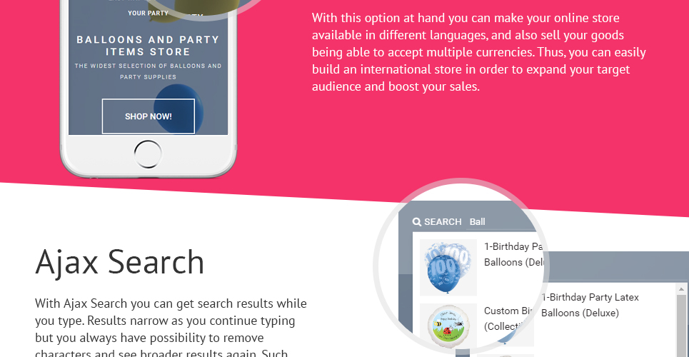 Event OpenCart Themes