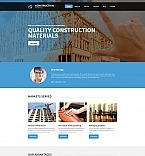 59122 Industrial, Most Popular Moto CMS 3 Templates