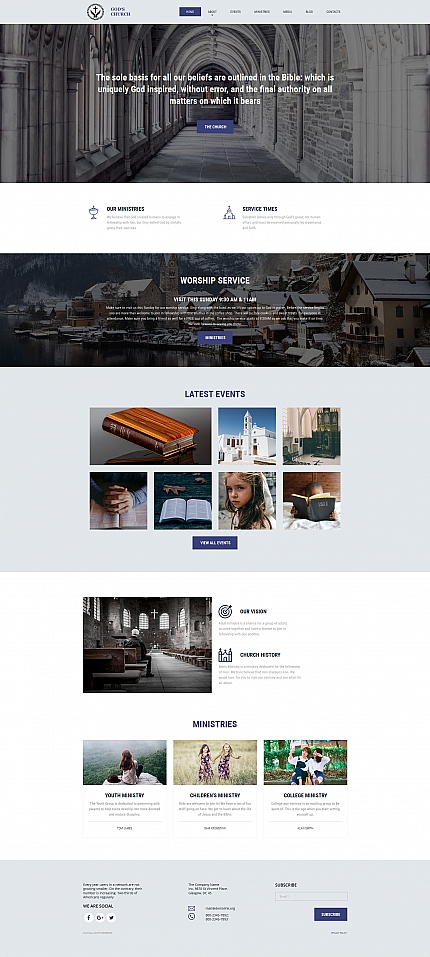Website template 59169
