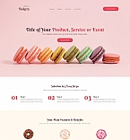59196 Food & Drink, Last Added Landing Page Templates