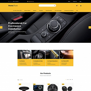 Buy Premium Responsive MotoCMS Ecommerce Templates. Template #59529. ArtelWEB Template Store Online.