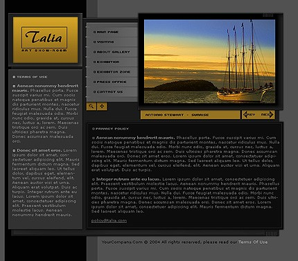 Website Template #6048