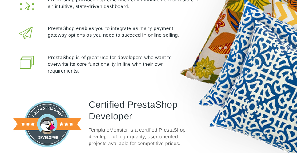 Furniture Store Prestashop Theme developed by qualified developers