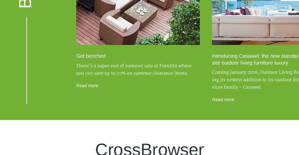 Furniture Store Prestashop Theme with blog support