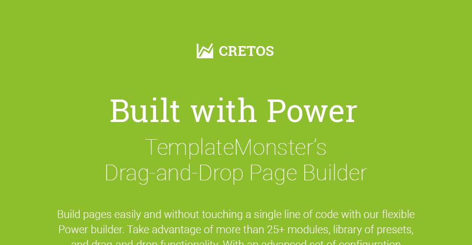 Cretos - Accountant & Financial Advisor WordPress Theme