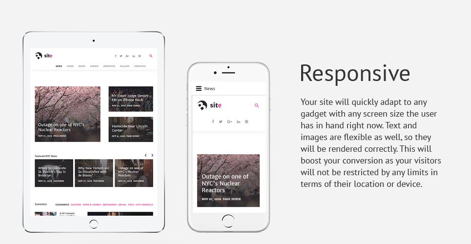 Bsite - News Portal Responsive Joomla Template