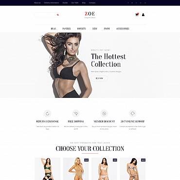 Buy Premium Responsive MotoCMS Ecommerce Templates. Template #61999. ArtelWEB Template Store Online.