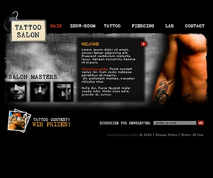 Website Template #6229