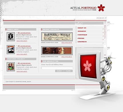 Website Template #6242
