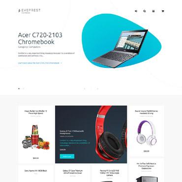 Купить  пофессиональные PrestaShop шаблоны. Купить шаблон #62337 и создать сайт.