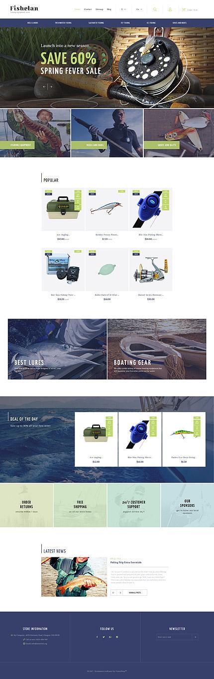TM 63358: Скриншот главной страницы PrestaShop