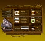 Website template #6494 by Vampire