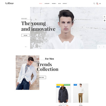 Купить  пофессиональные PrestaShop шаблоны. Купить шаблон #64047 и создать сайт.