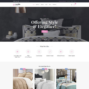 Buy Premium Responsive Shopify Themes. Template #64087. ArtelWEB Template Store Online.