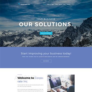 Купить  пофессиональные WordPress темы. Купить шаблон #64117 и создать сайт.