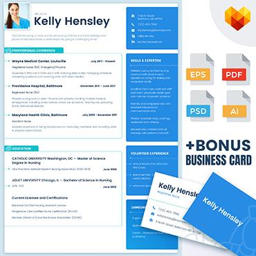 Купить  пофессиональные Resume Templates. Купить шаблон #65227 и создать сайт.