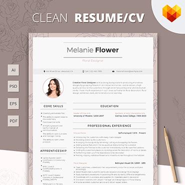 Купить  пофессиональные Resume Templates. Купить шаблон #65256 и создать сайт.