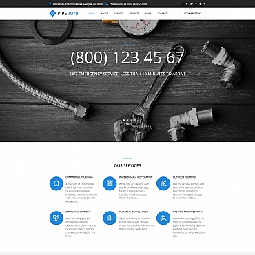 Buy Premium Responsive Moto CMS HTML Templates. Template #65268. ArtelWEB Template Store Online.