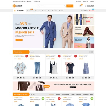 Buy Premium Responsive Magento Themes. Template #65610. ArtelWEB Template Store Online.