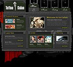 Website template #6686 by Vampire