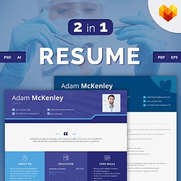Купить  пофессиональные Resume Templates. Купить шаблон #66433 и создать сайт.