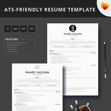 Купить  пофессиональные Resume Templates. Купить шаблон #66450 и создать сайт.