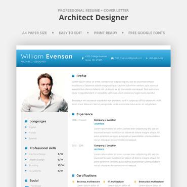 Купить  пофессиональные Resume Templates. Купить шаблон #66961 и создать сайт.