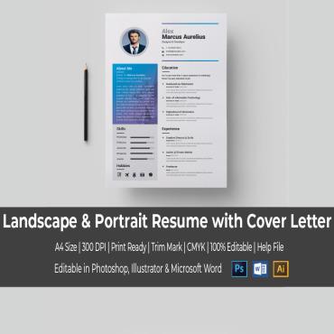 Купить  пофессиональные Resume Templates. Купить шаблон #67035 и создать сайт.