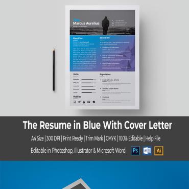 Купить  пофессиональные Resume Templates. Купить шаблон #67069 и создать сайт.