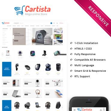 Купить  пофессиональные PrestaShop шаблоны. Купить шаблон #68263 и создать сайт.