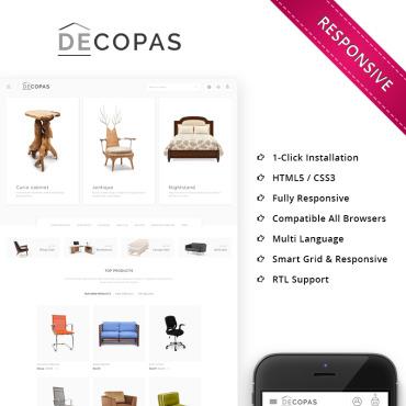 Купить  пофессиональные PrestaShop шаблоны. Купить шаблон #68288 и создать сайт.
