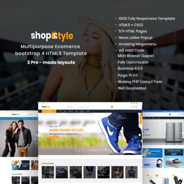 Купить  пофессиональные Bootstrap и html шаблоны. Купить шаблон #68404 и создать сайт.