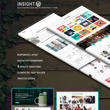 WordPress Template #68557