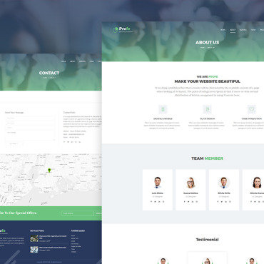 WordPress Template #68558