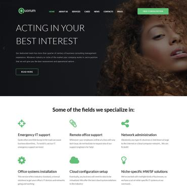 WordPress Template #68560