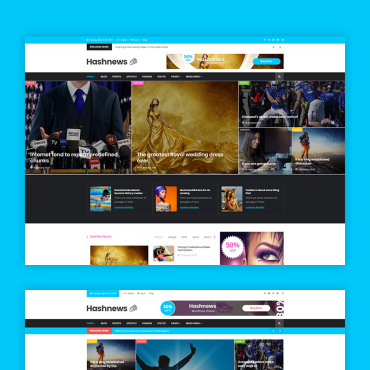 HTML/CSS Template #68567