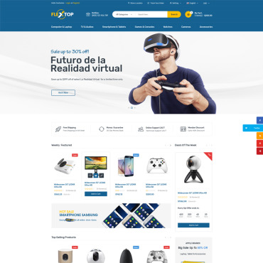 Купить  пофессиональные WooCommerce шаблоны. Купить шаблон #68602 и создать сайт.